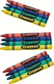 Cellophane Crayons Premium Quality - 4 Pack