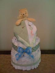 """Love-y"" Diaper Cake"