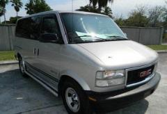 1998 GMC Safari Rear-wheel Drive