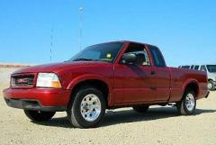 2000 GMC Sonoma 4x2 Extended Cab 122.9 in. WB