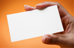 Flat Printed Business Cards