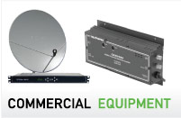 Commercial Equipment (Satellite AV provides discounted pricing to volume resellers and self-supporting Free to Air