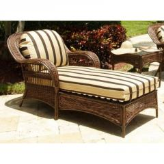 ST KITTS PATIO CHAISE LOUNGE FRAME &