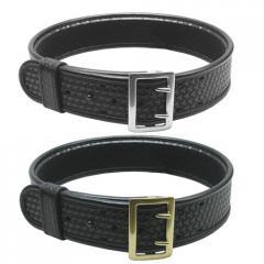 Basketweave Synthetic Leather Duty Belts