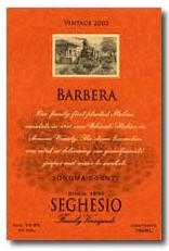 Renzo Seghesio Barbera d'Alba 2011