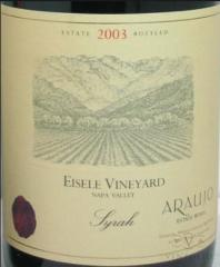 2004 Araujo Estate Napa Valley Eisele Vineyard Syrah
