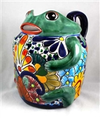Talavera Frog Pitcher