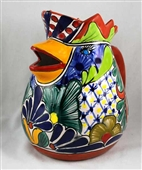 Talavera Chicken Pitcher