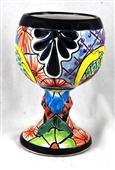 Talavera Wine Goblet