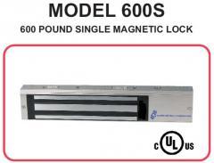 600 Pound Single magnetic lock