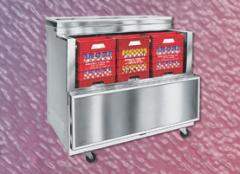 OMC Series Cold Wall Evaporator Open Access Milk Coolers