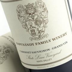 Kapcsandy Family Winery Cabernet Sauvignon (Grand Vin) State Lane Vineyard 2007
