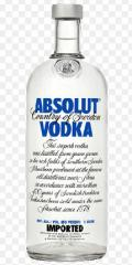Absolut 1.75 litre Vodka (750ml)
