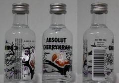 Absolut Cherrykran Vodka 50 ml (50ml)
