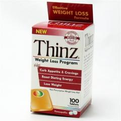 Thinz Weight Loss Program 100 Tablets