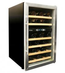 Vinotemp 34-Bottle Dual-Zone Wine Cooler