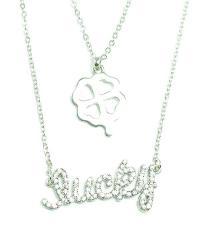 Austrian crystal double necklace