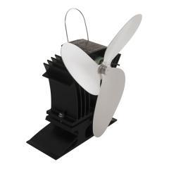 Ecofan For Gas Stoves, Black Body, Nickel Blades