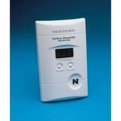 Nighthawk Carbon Monoxide Alarm, 110v Plug In With