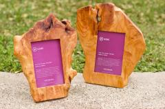Wood Root Photo Frame
