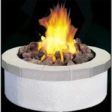 Lime Stone Fire Place
