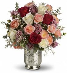Always Yours Bouquet with Red Roses by Teleflora