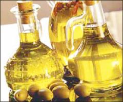 Yellow veg oil