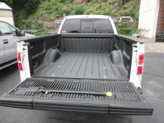 Pickup truck with Ultimate Sprayed on bed liner
