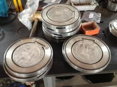 Single disc wafer check valve