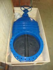 DIN BS ductile iron soft seat gate valve