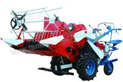 Small Rice/Wheat Combine Harvester