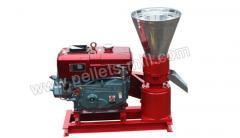 Diesel biomass pellets mill