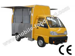 CE Certified Electric Food Truck For Sale
