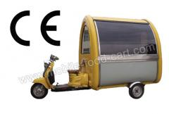 Electric Tricycle Food Van is Hot Sale