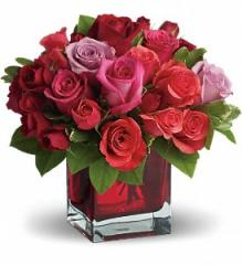Madly in Love Bouquet with Red Roses by Teleflora