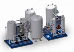 Nitrogen/Oxygen Generating Plant by Pressure Swing