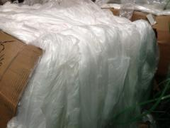 LDPE Film Scrap 100%  Clean and Clear