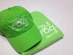 Gracious Green Tshirt/Cap Combo
