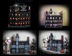Halloween Advent House Calendar