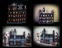 Halloween Advent House Calendar
