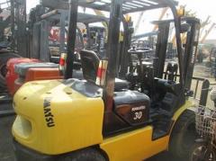 Komatsu forklift 3 ton for sale, FD30T-17,