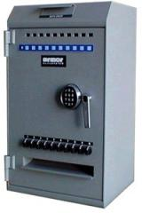 Cash counting & validating safes