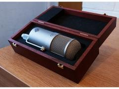 Neumann U47 FET Condenser Microphone used