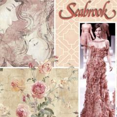 Wallpaper, decorative accessories, borders, murals.