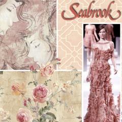 Wallpaper, decorative accessories, borders, murals.