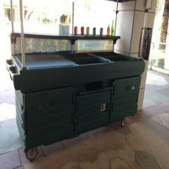 Portable Beverage Service Cart