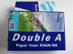 Double A A4 Paper 80GSM 70GSM