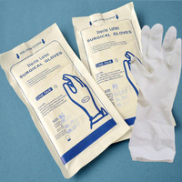 Latex examination gloves medical disposable non sterile
