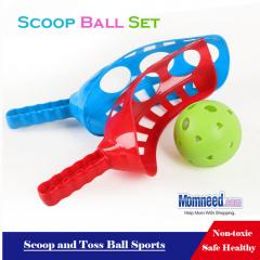 Scoop and Toss Game Fun Sports Scoop Ball Set, Two Styles