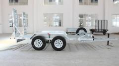 Hot-dip galvanized trailers